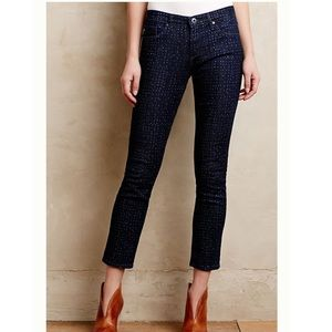 Adriano Goldschmied Dotted Stevie Ankle Jeans